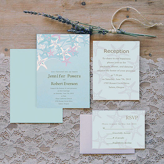 Summer Wedding Invitation 14