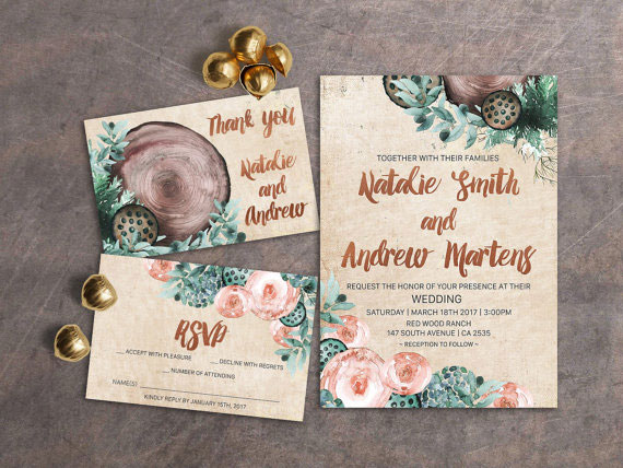 Summer Wedding Invitation 15