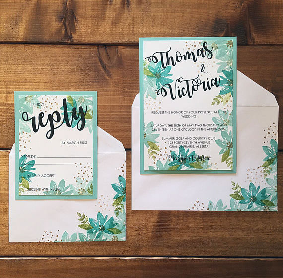 Summer Wedding Invitations 3