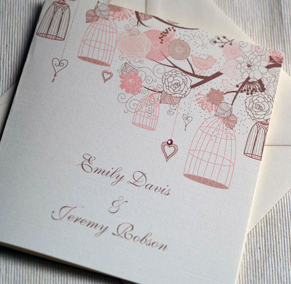 Summer Wedding Invitations 4