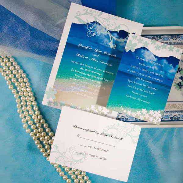 Summer Wedding Invitation 6