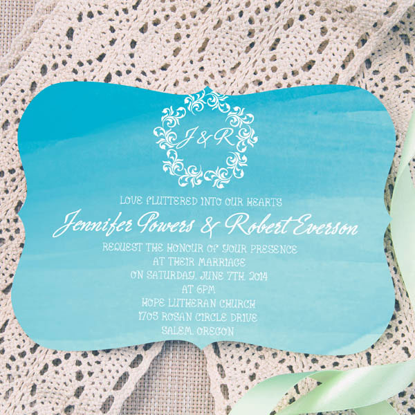 Summer Wedding Invitation 7